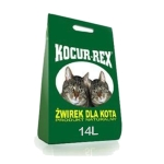 KOCUR REX ZIELONY 14L