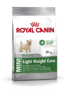 ROYAL CANIN Pies  8 kg Mini Light Weight Care