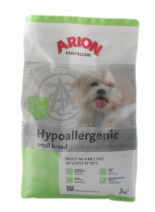 Arion Hypoallergenic Small Breed 3  kg