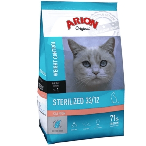 Arion Original CAT 7,5 kg STERILIZED SALMON