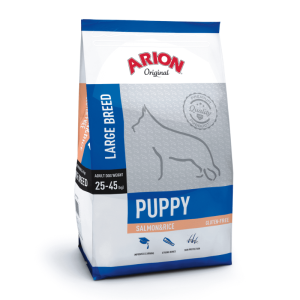 Arion Puppy Large Breed Salmon & Rice 12 kg
