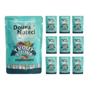 Dolina Noteci Superfood Pstrąg i Tuńczyk 10x85g