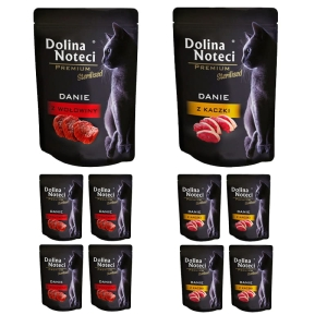 Dolina Noteci Premium STERILISED Mix smaków 10x85g