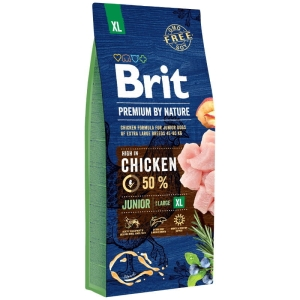 Brit PREMIUM BY NATURE XL Junior EXTRA LARGE 15kg