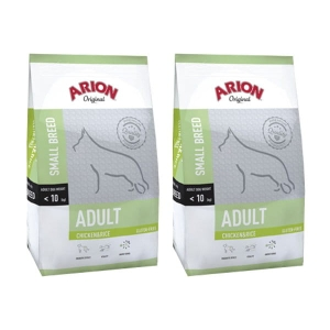 Arion Adult Small Breed Chicken Rice 15kg 2x7,5 kg