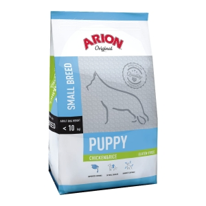 Arion Puppy Small Breed Chicken & Rice 7,5 kg