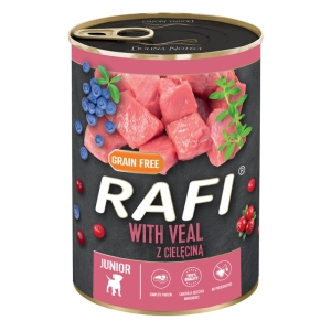 Rafi JUNIOR Cielęcina 400 g NEW