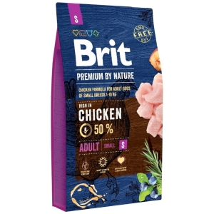 Brit PREMIUM BY NATURE S Adult SMALL 8kg