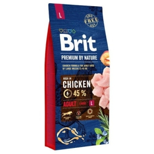 Brit PREMIUM BY NATURE L Adult LARGE 15kg