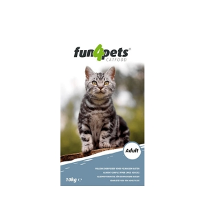 Fun4pets CAT ADULT 10KG