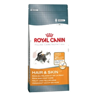 ROYAL CANIN Kot 10 kg Hair & Skin