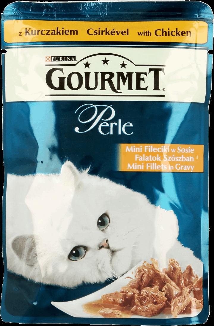 1ad64e60c98f41 Gourmet Perle sasz. 85g Mini Fileciki z Kurczakiem - Merdam.pl